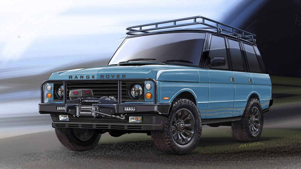 East Coast Defender Introduces Custom Range Rover Classics