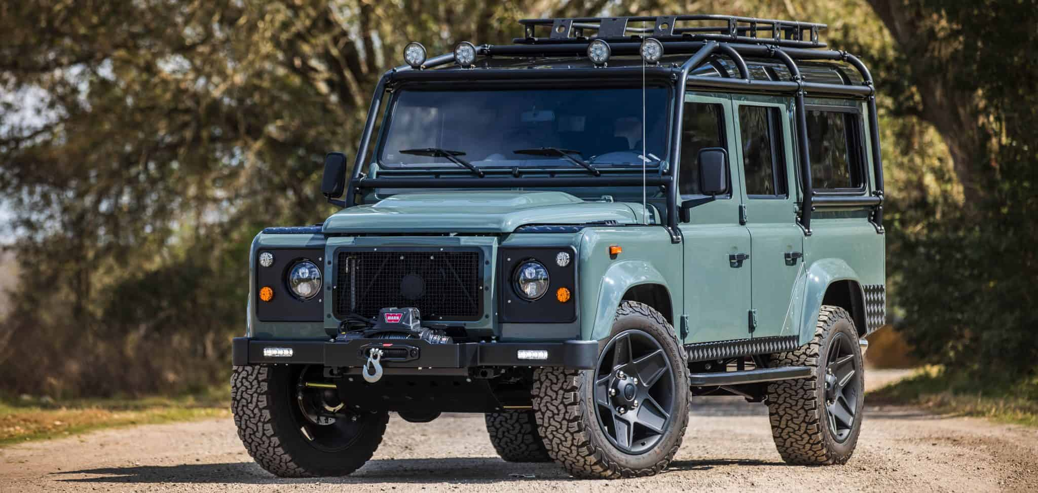 Land Rover Defender Usa >> Custom Defender 90 & 110 for Sale created by ECD Automotive Design in the USA.