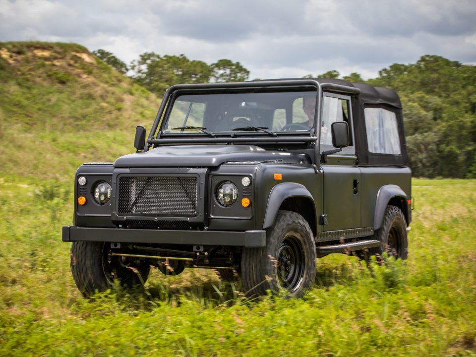 Custom Defender Land Rover