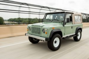 history of land rover defender