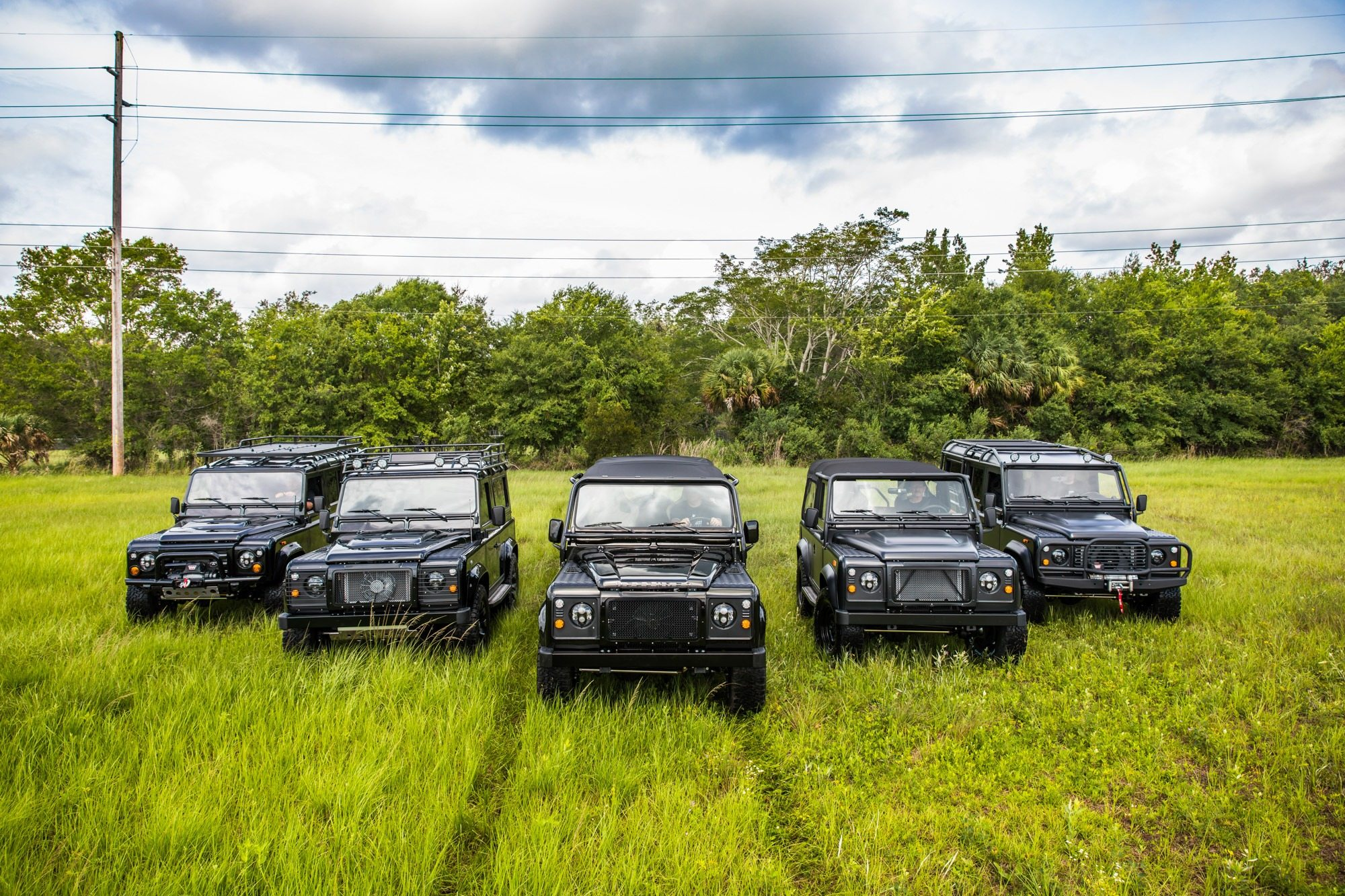 Custom Defender Fleet