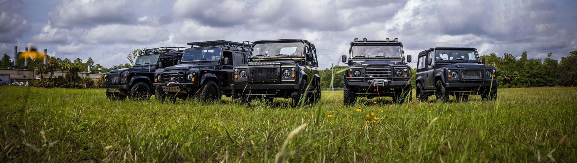 Custom Defender 110 and 90