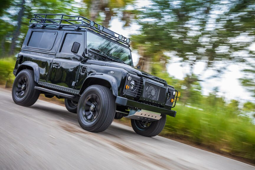 Project Black Out Defender 90