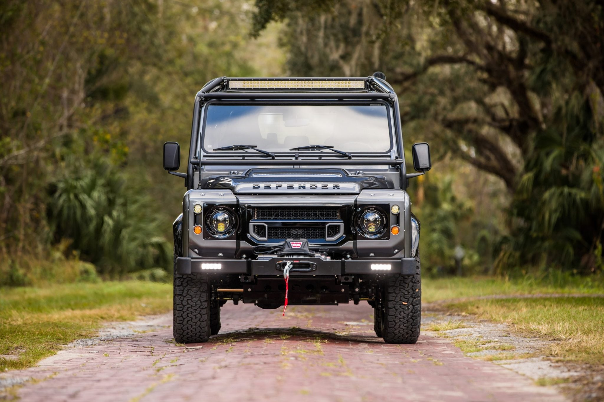 land rover defender custom design
