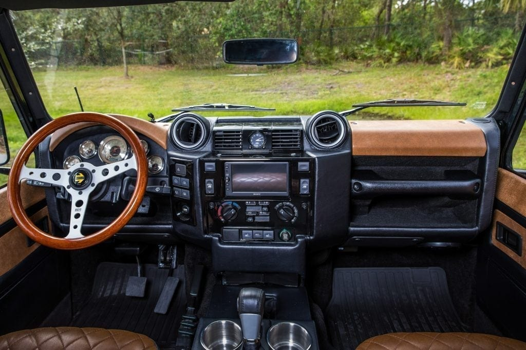 Cosmetic Must Haves for Your Modern Custom Restored Defender