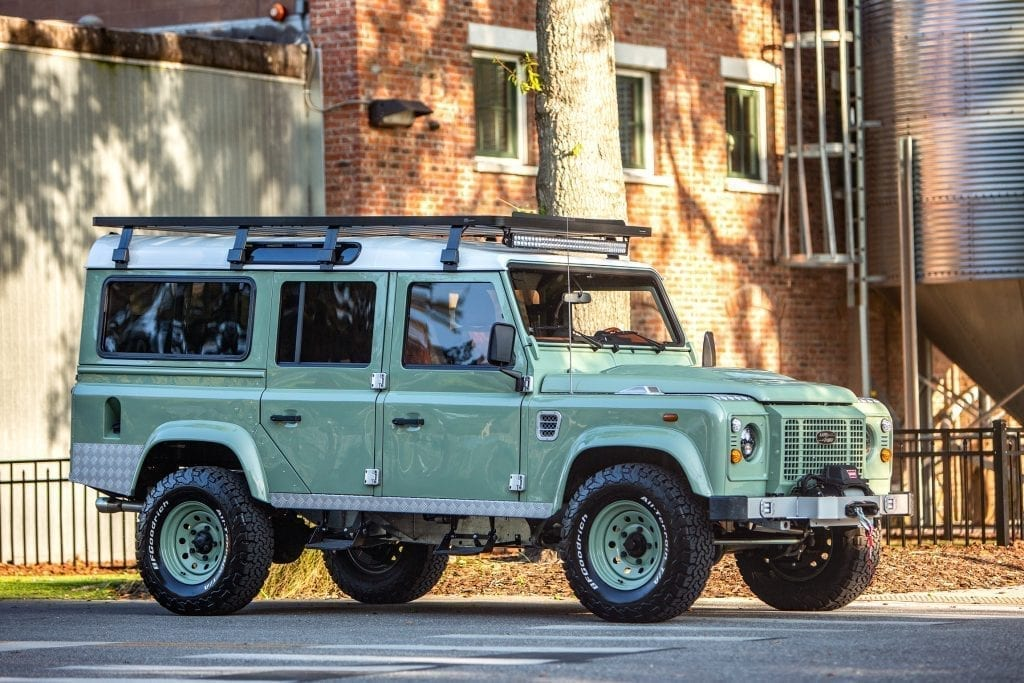 custom land rover defender 110