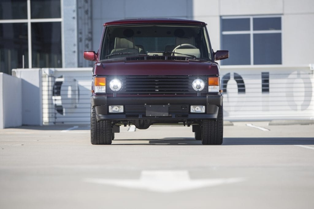 Project Red Rover by ECD | Custom Range Rover Classic