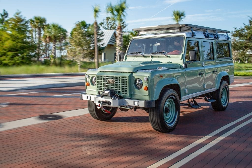 custom defender for sale
