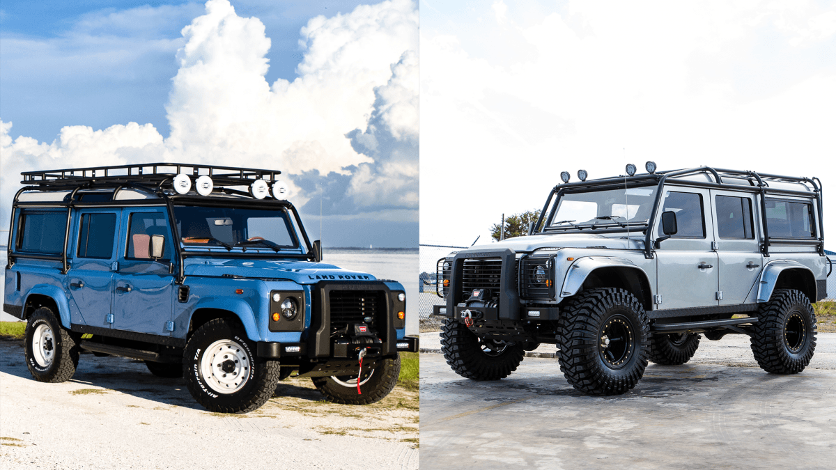 ecd custom defender 110