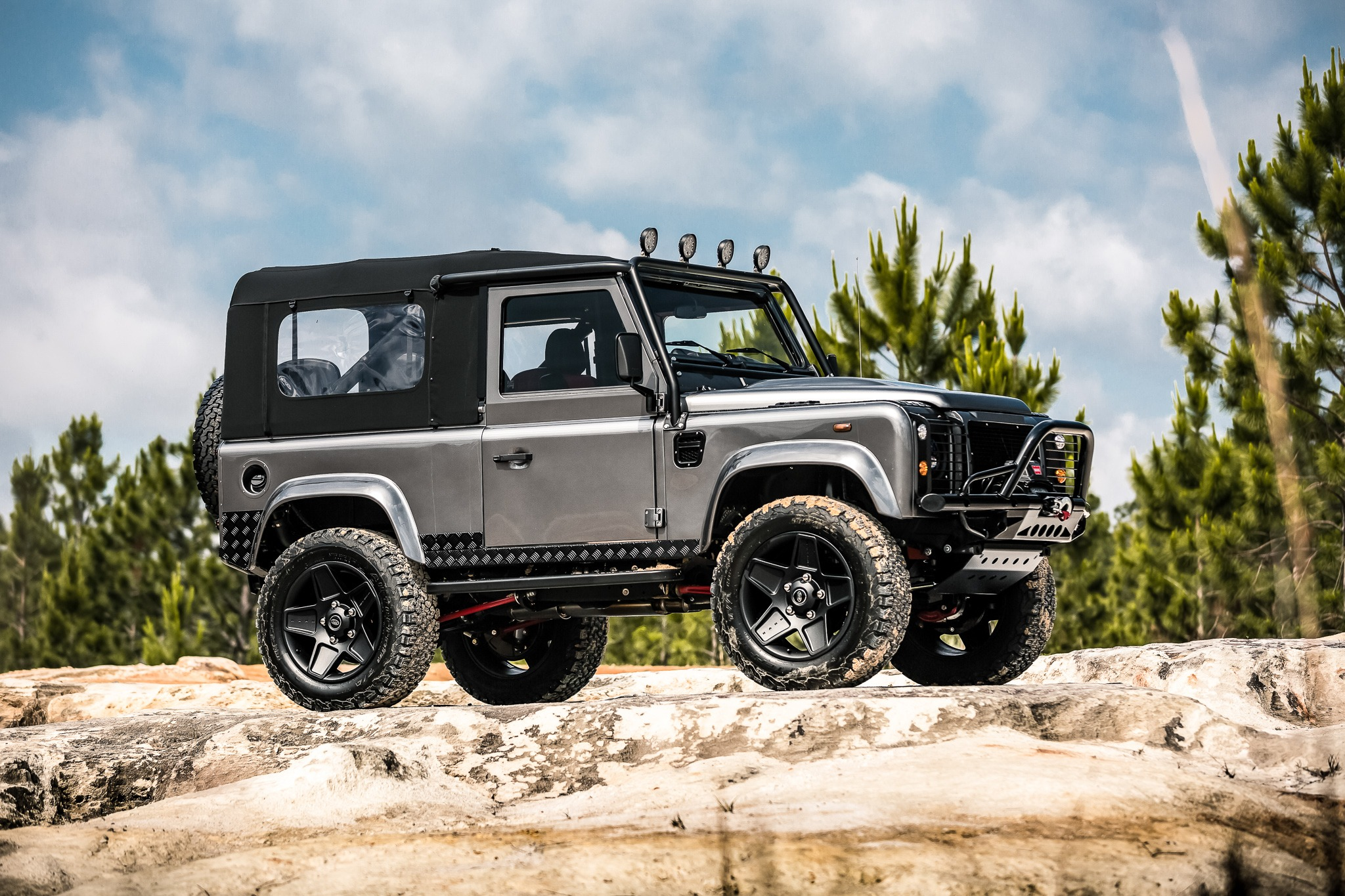 land rover defender 90 convertible