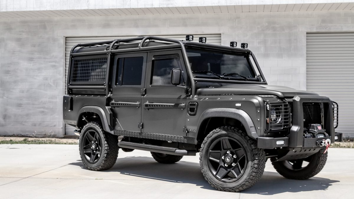 military style defender 110