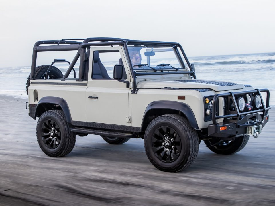 california compliant land rover defender