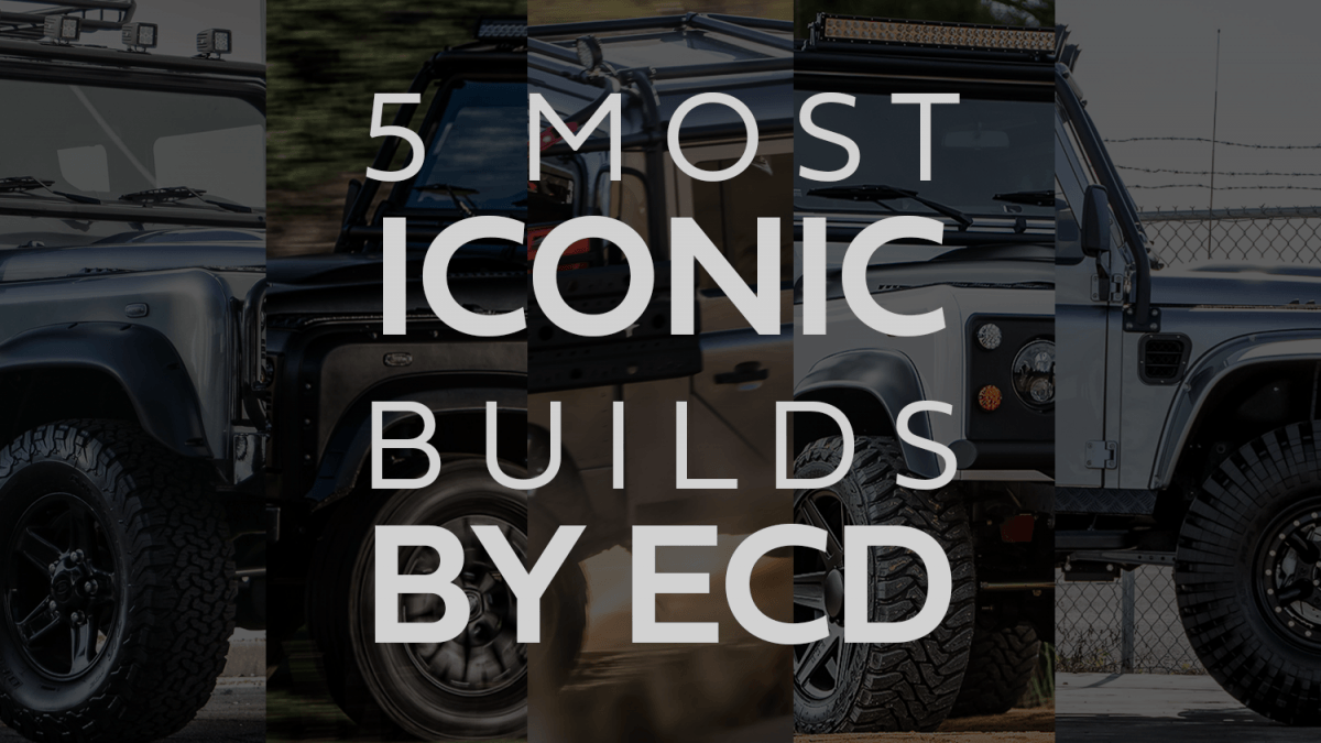 iconic land rover defenders