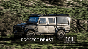 project beast land rover defender 110