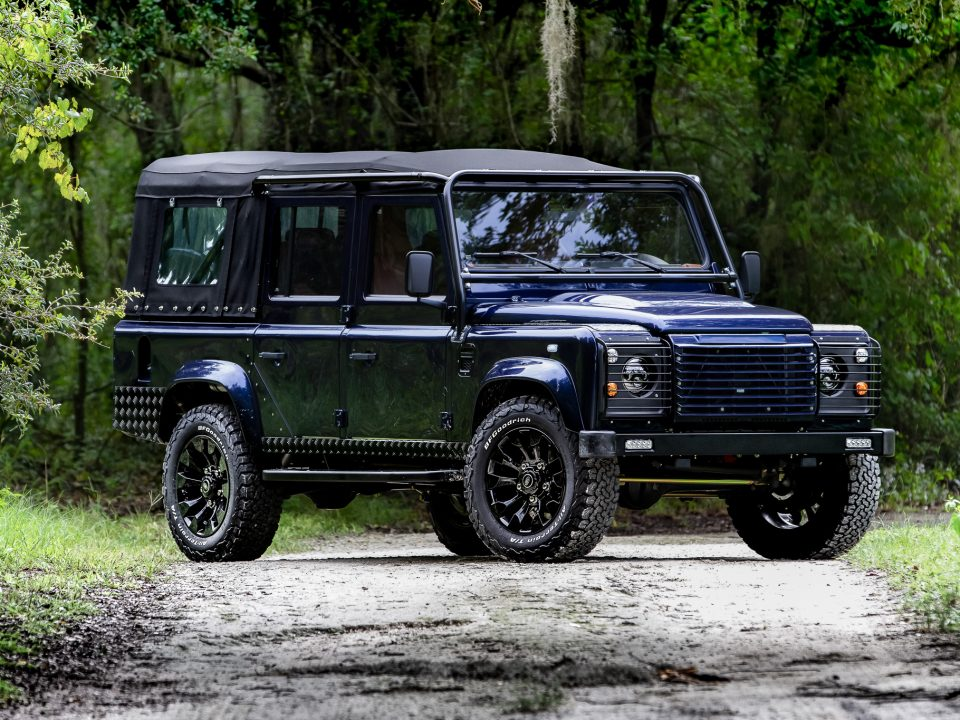custom soft-top defender 110 convertible