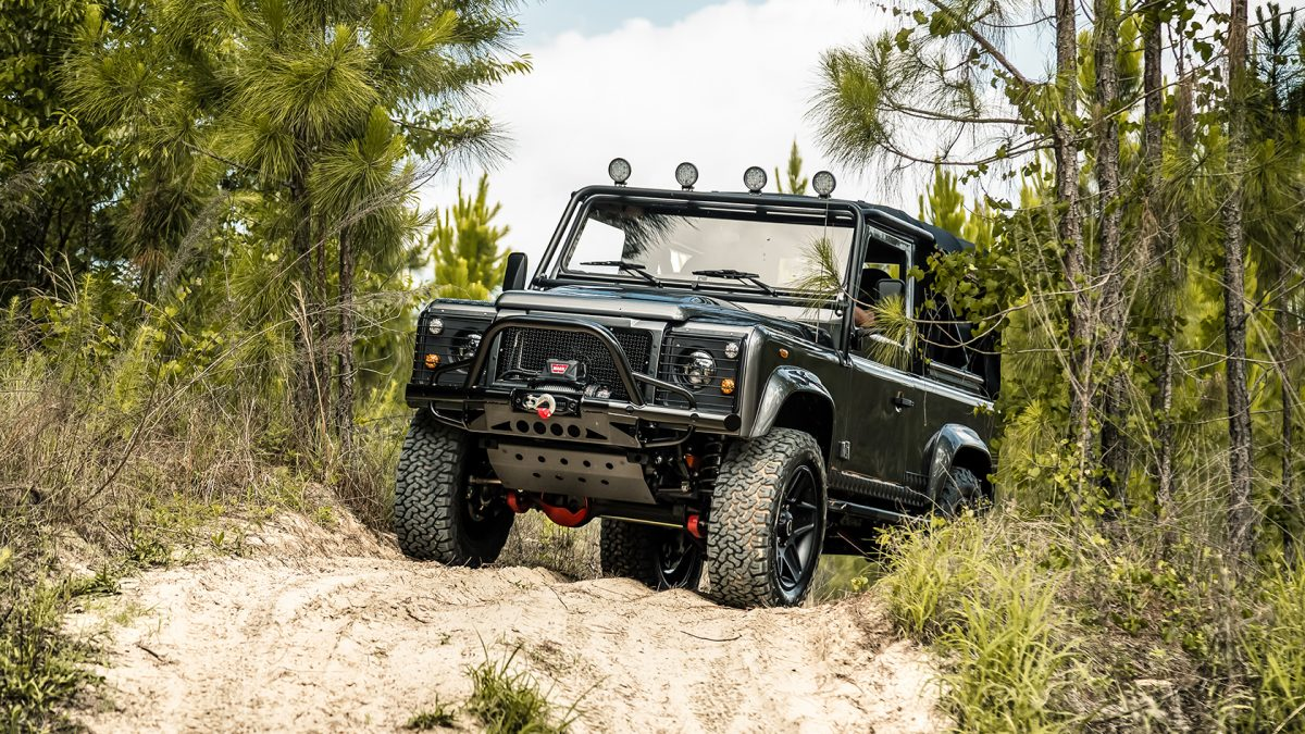 custom land rover defender 90