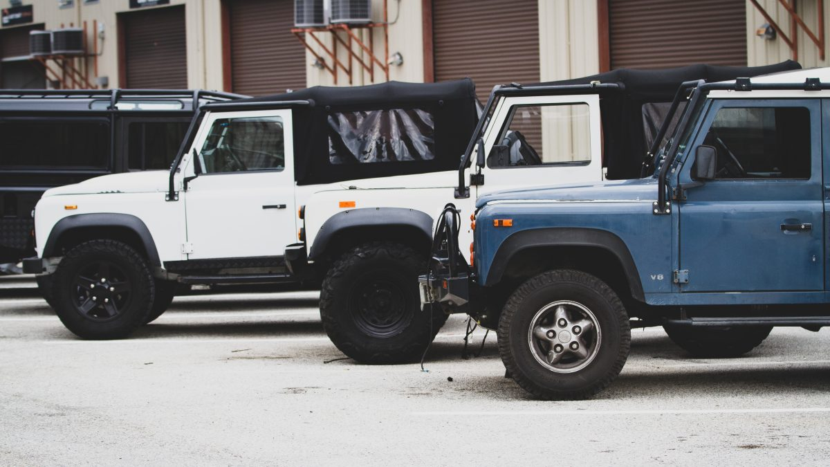 importing land rover defender usa