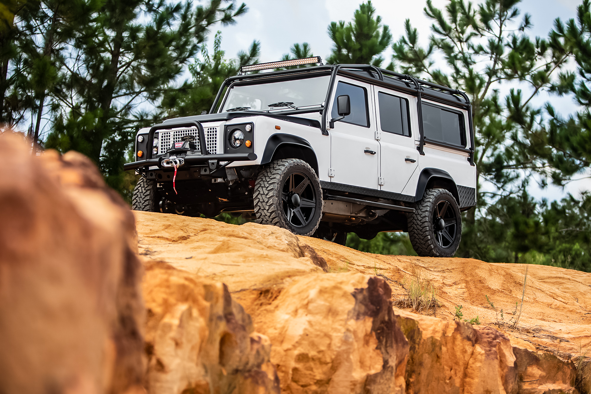 land rover defender upgrade options