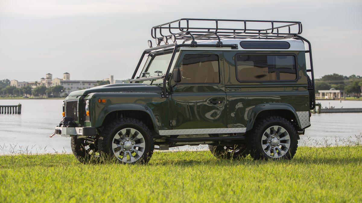 land rover defender production north america
