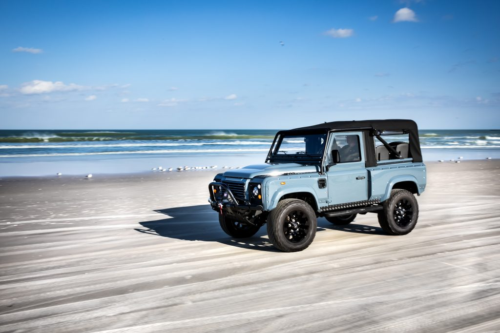 soft top defender 90