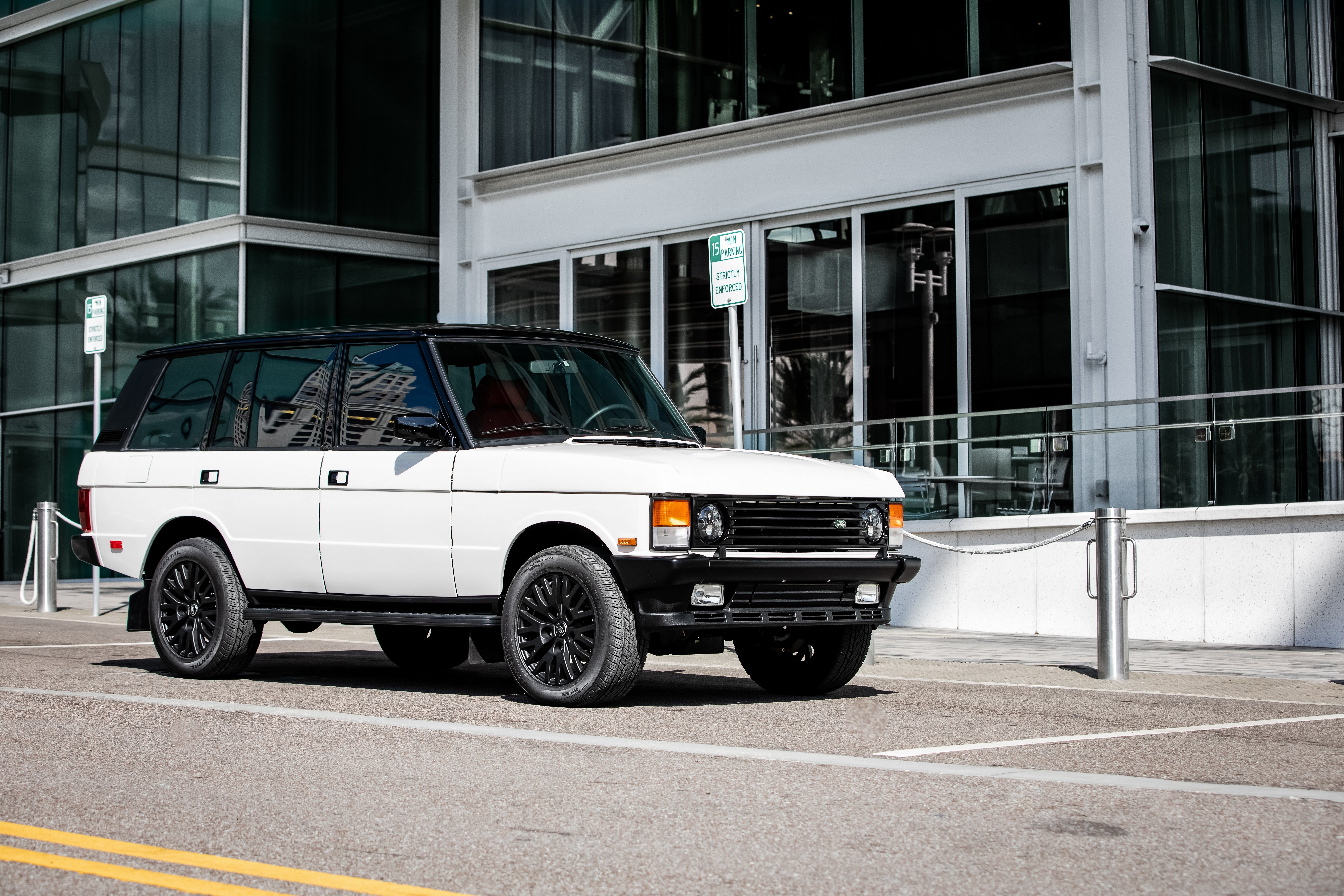 restored range rover classic county lwb