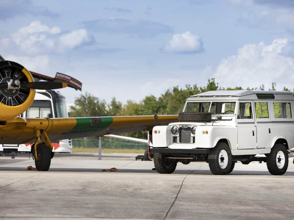 Land Rover Series IIA Henry