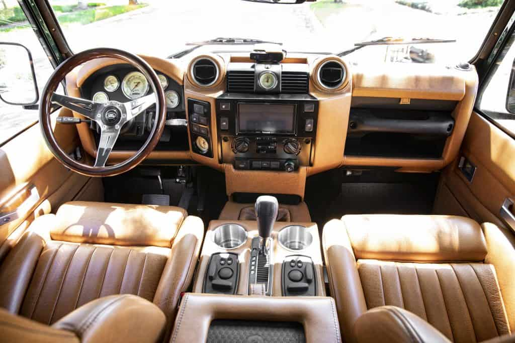 defender 110 interior custom