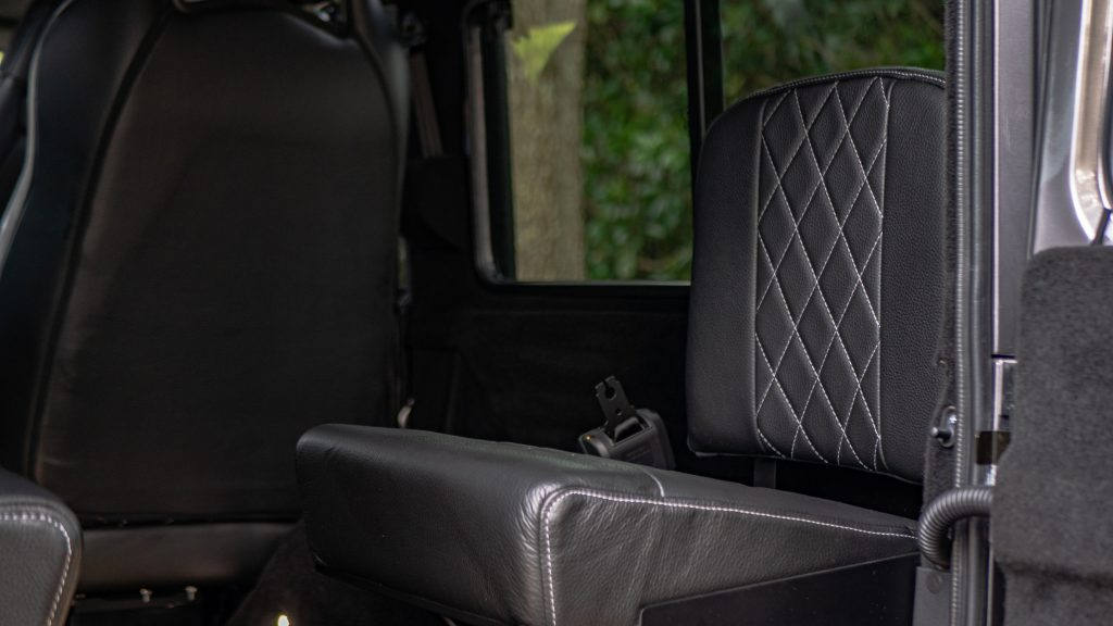 custom defender jump seats